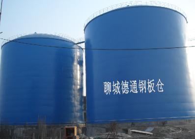 大型落地式焊接钢板仓