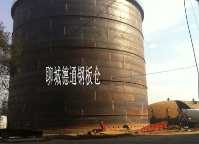 大型焊接式落地钢板仓