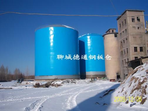 内蒙古1万吨熟料钢板库